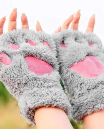 Fluffy Paw Gloves