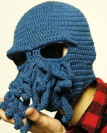 Crochet Octopus Mask