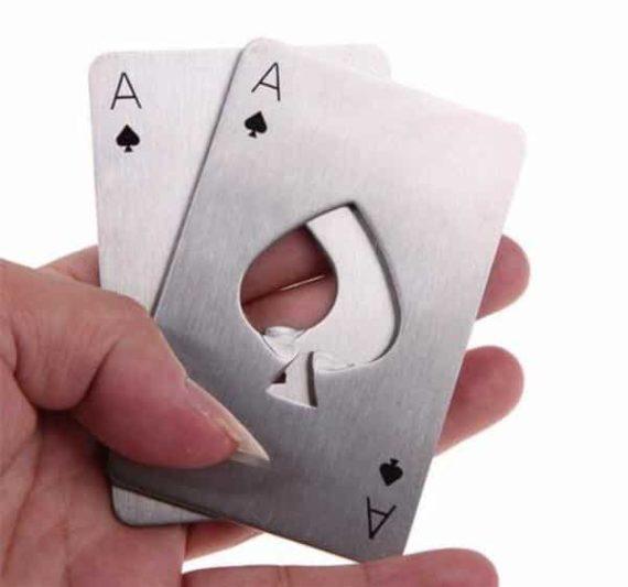 Poker Card Opener Set