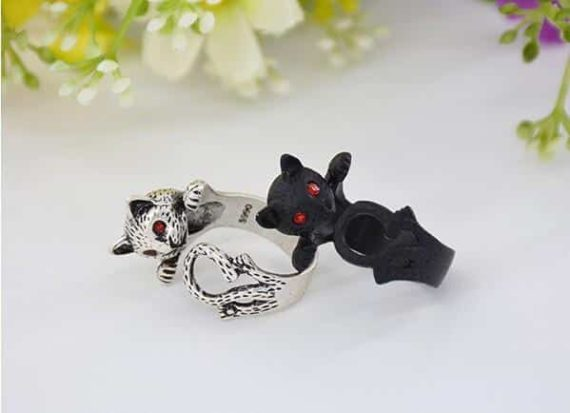 Adorable Cat Rings - Set of 3
