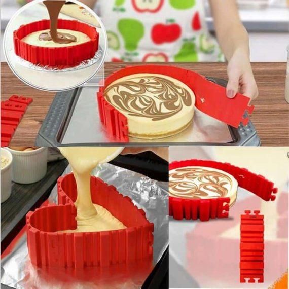 Silicone Cake Sharper - Set of 4