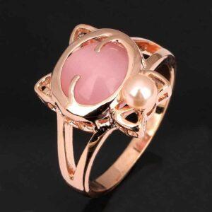 Opal Kitty Ring