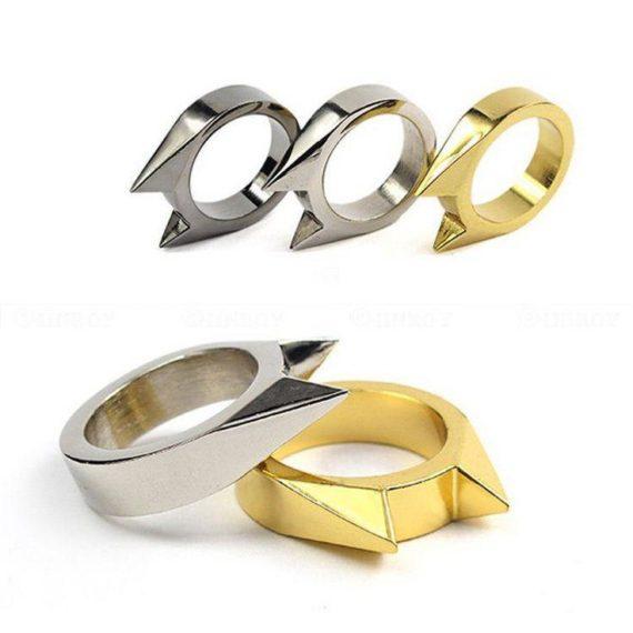 Punk Kitty Rings - Set of 3