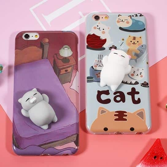 Squishy Cat Case