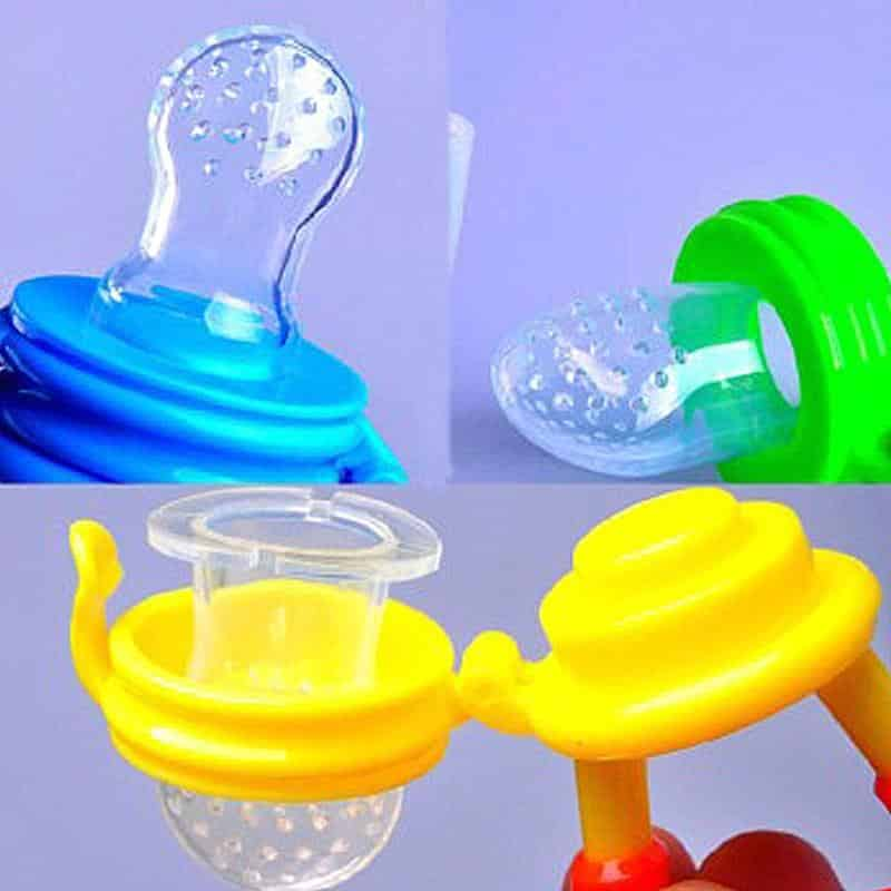 Fruit Feeder Pacifier - Set of 3