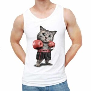 Fighter Cat Tank Top