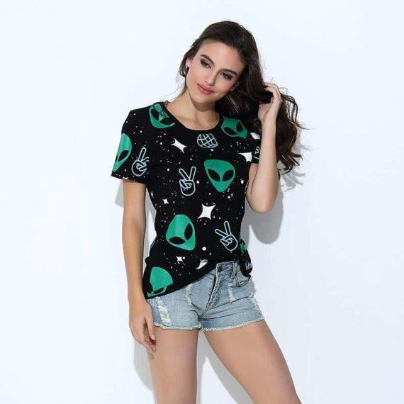Green Alien T-shirt
