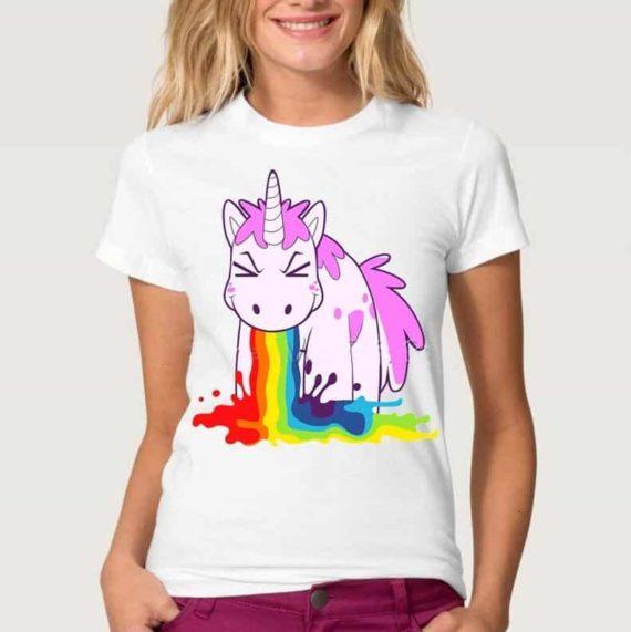 Sick Unicorn T-shirt