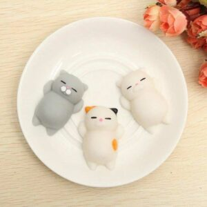 Fluffy Cats - Set of 3