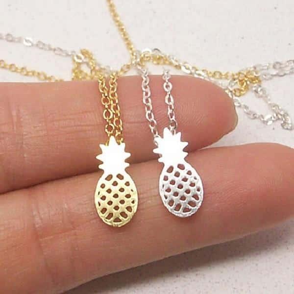 Pineapple Pendant Set