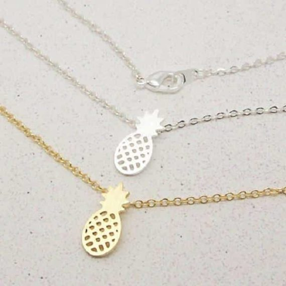Pineapple Pendant Set