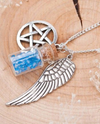 Angel Tears Bottle Necklace