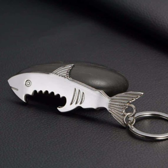 Shark Shaped Bottle Opener Set