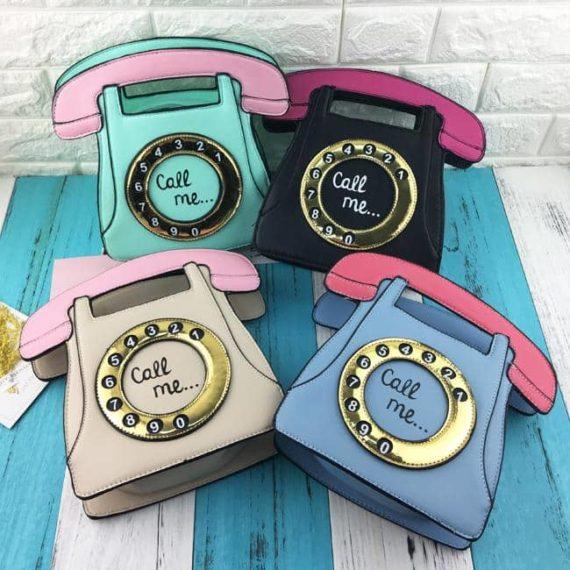 Vintage Telephone Purse