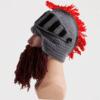 Crochet Roman Soldier Helmet