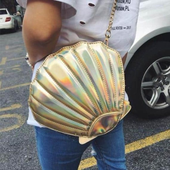 Shell Shaped Purse