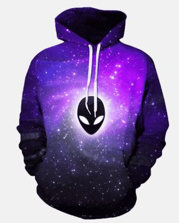 Alien Galaxy Hoodie