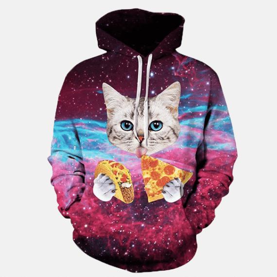Pizza Cat Hoodie