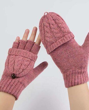 Detachable Fingerless Gloves
