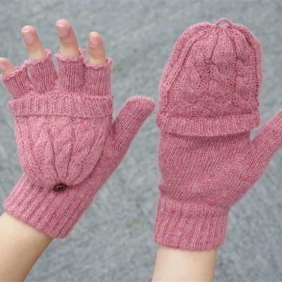 Detachable Fingerless Gloves