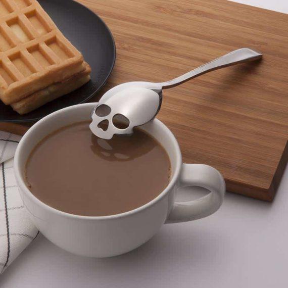 Skull Teaspoon - Set of 3