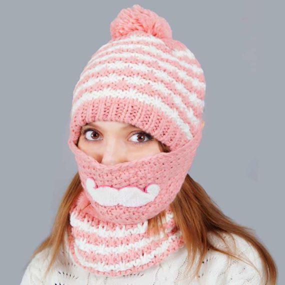 Beard Beanie for Women