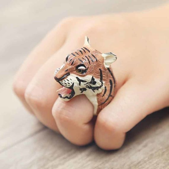 Ferocious Tiger Ring