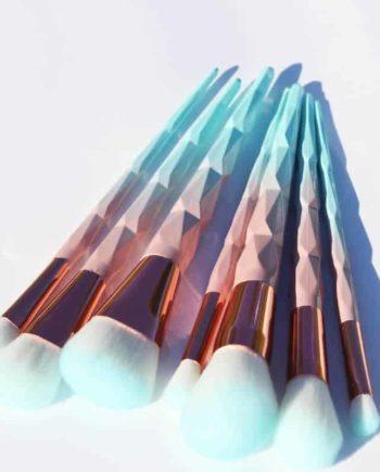 Turquoise Makeup Brush