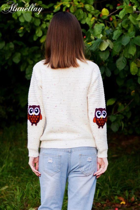Twin Owls Sweater