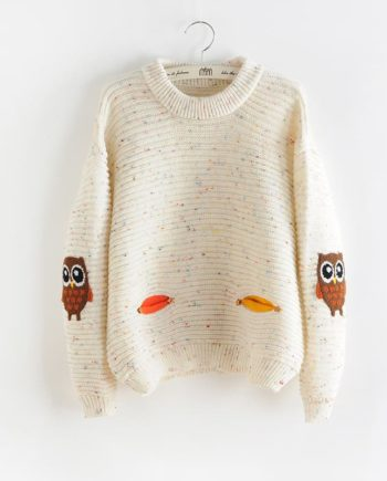Twin Owls Sweater
