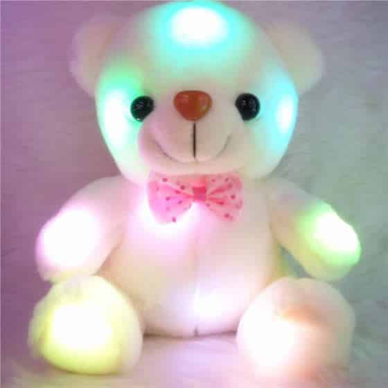 Colorful Glowing Teddy Bear 2