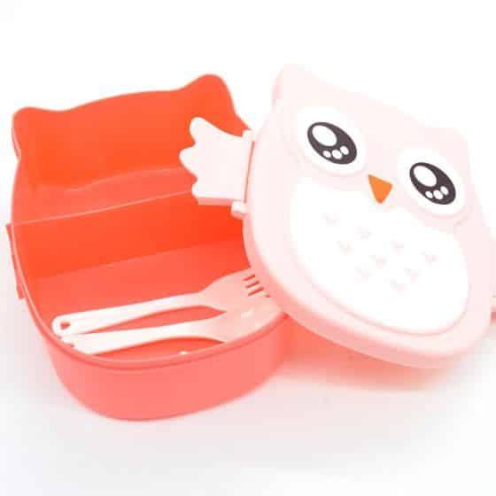 Cartoon Owl Lunchbox 6