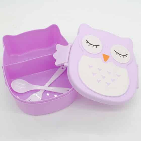 Cartoon Owl Lunchbox 4