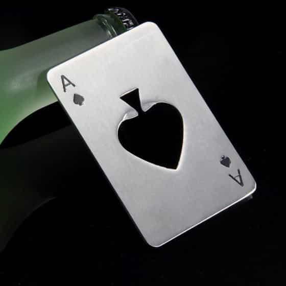Poker Card Opener Set 1