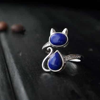 Silvercat Ring