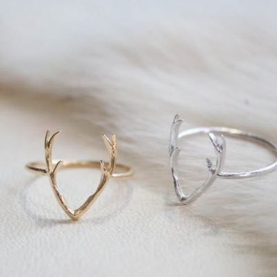 Stag Patronus Rings - Set of 3