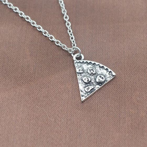 Pizza Friendship Necklace 6