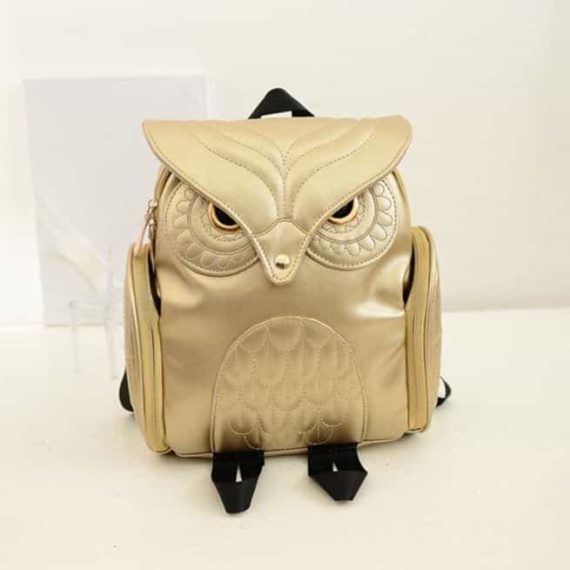 Angry Owl Backpack 6