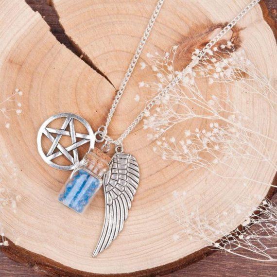 Angel Tears Bottle Necklace 2