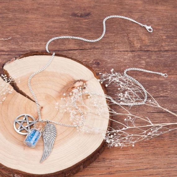 Angel Tears Bottle Necklace 3