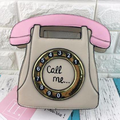 Vintage Telephone Purse 4