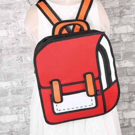 2D Cartoon Backpack 2