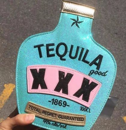 Tequila Purse Bottle 4