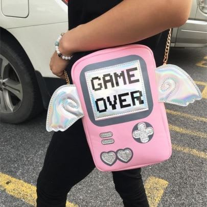 Game Over Cross Body Bag 5