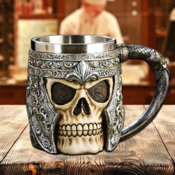 Viking Skull Mug 1