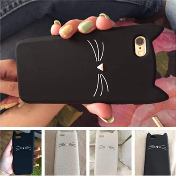 Happy Cat iPhone Case