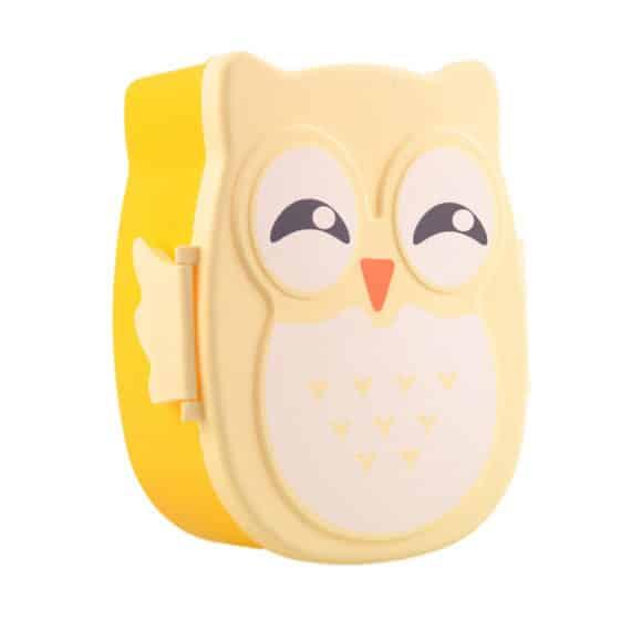 Cartoon Owl Lunchbox