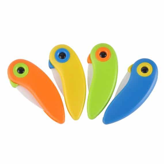 Mini Bird Ceramic Knife Set