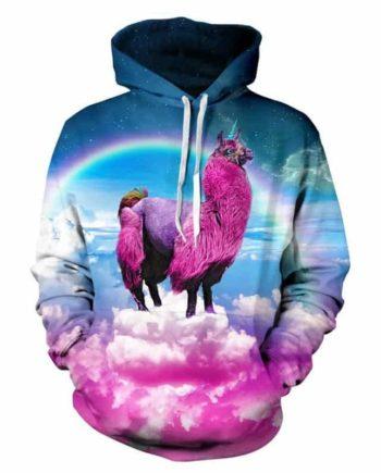 Trippy Llama Hoodie
