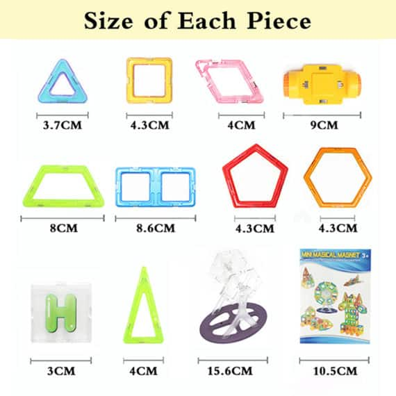 Magnetic Blocks - Set of 20